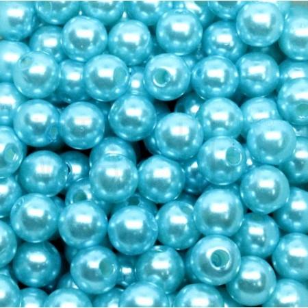 Pack 100 pérolas - 8mm Azul