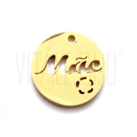 "Medalha ""Mãe"" 10mm -..."