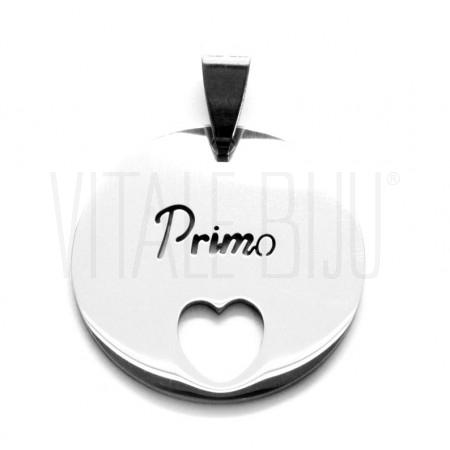 """Medalha """"Primo"""" Cora..."""