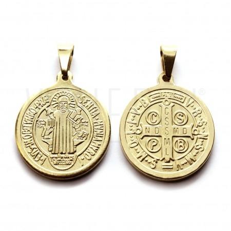 Medalha São Bento em relevo 18...