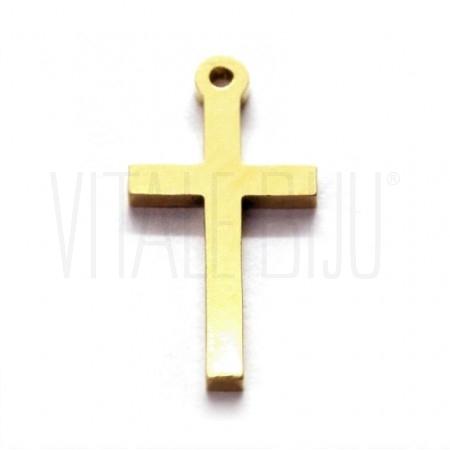 Pendente cruz 17x09mm - Aço in...
