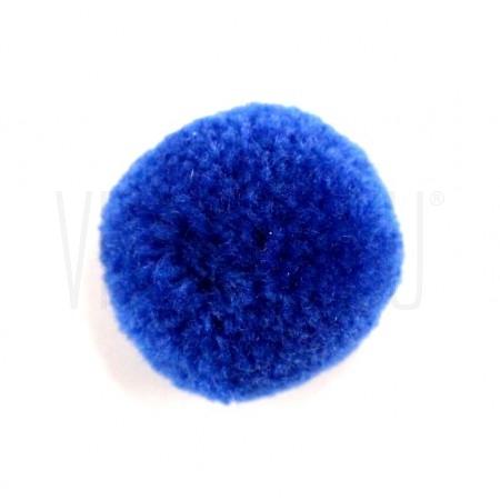 Pompom bola  azul forte  15mm