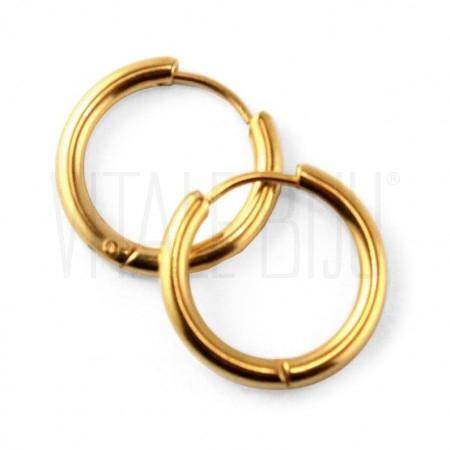 Brinco Argola dourado 20mm - A...