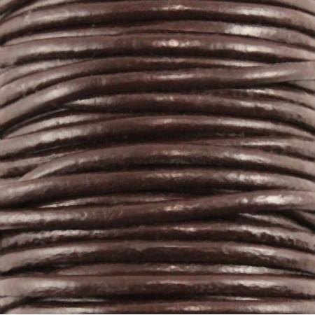 fio de cabedal 3mm - CASTANHO