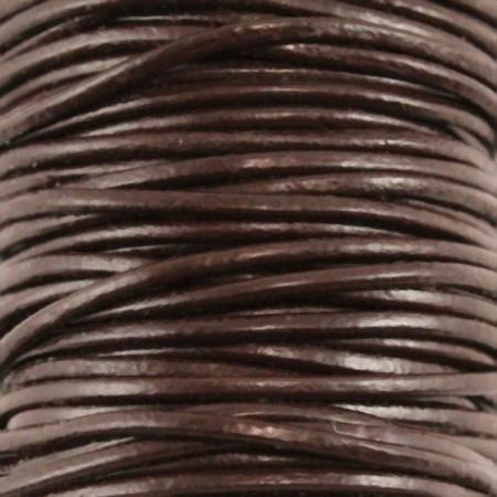 fio de cabedal 2mm - CASTANHO