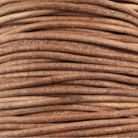 fio de cabedal 2mm - CAMEL