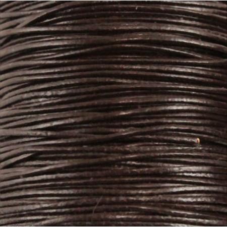 fio de cabedal 1mm - CASTANHO