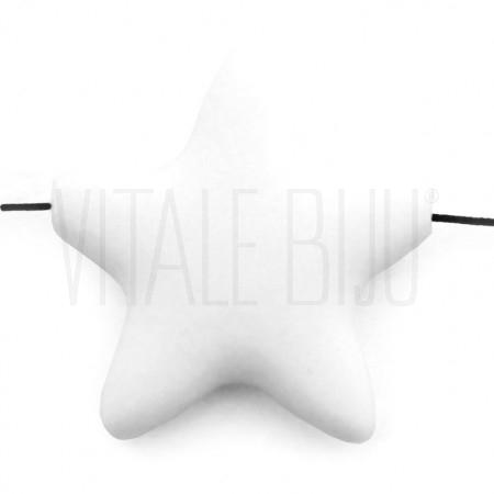 Estrela de silicone 35x38mm fu...
