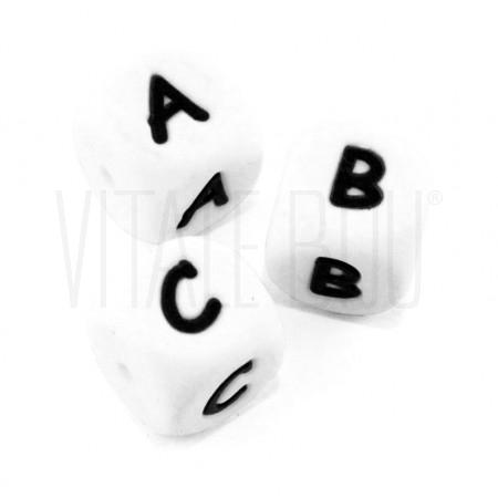 Letra cubo em silicone 12mm