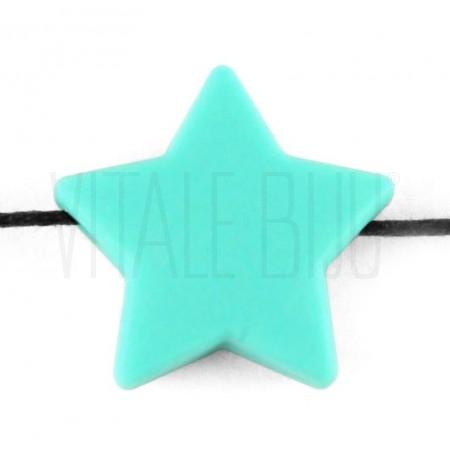 Estrela de silicone 21x22mm fu...