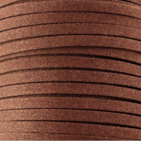 Camurça 5mm castanha