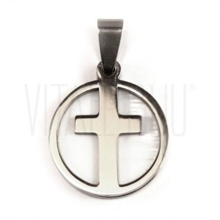 Medalha cruz c/ madrepérola 2...