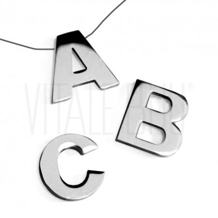 Pendente letras grossa 15mm - ...